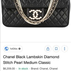 9bed0f20d29fee CHANEL Bags | Lambskin Diamond Stitch Pearl Westminster | Poshmark